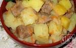 Картошка с копченой курицей: рецепт приготовления