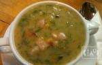 Гороховый суп с копченым беконом: классический и в мультиварке