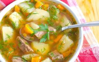 Суп с копчеными ребрами: рецепты без гороха