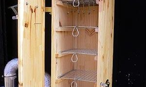 Самодельный коптильный шкаф