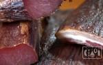 Говядина сырокопченая в домашних условиях