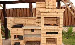 Как построить кирпичную печь мангал и коптильню: секреты мастеров