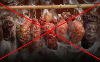 Почему при копчении мясо кислит