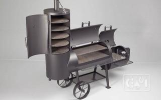 Гриль коптильня мангал барбекю: конструкция и принцип работы