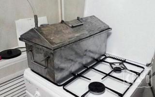 Коптильня для домашнего копчения на газу