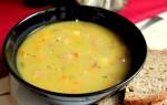 Гороховый суп с копченым окорочком: рецепты с фото