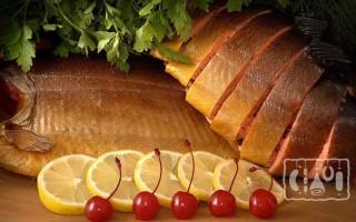 Копчение сазана: калорийность и рецепты в коптильне, духовке
