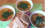 Чечевичный суп с копченостями: рецепты с фото