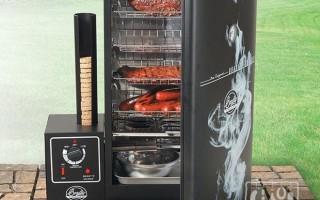 Как сделать коптилку из холодильника