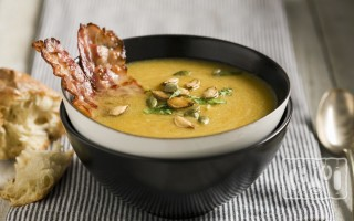 Гороховый суп с копченостями в мультиварке и скороварке