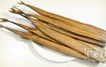 Рыба-игла копченая: рецепт приготовления