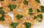 Тарталетки с копченой курицей: рецепт приготовления