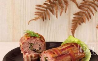Рулеты из копчёной свинины: пошаговые рецепты