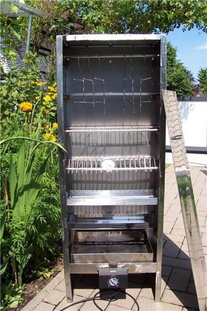 Коптильня своими руками из холодильника