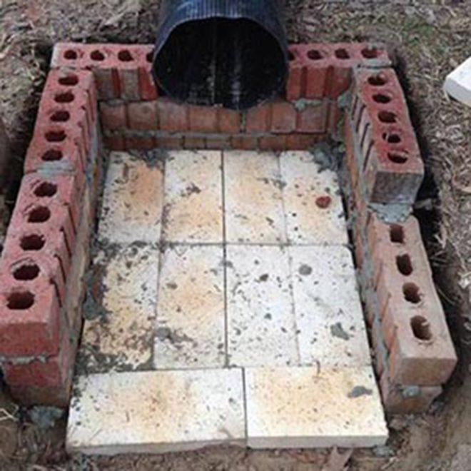 Фундамент под универсальную печь