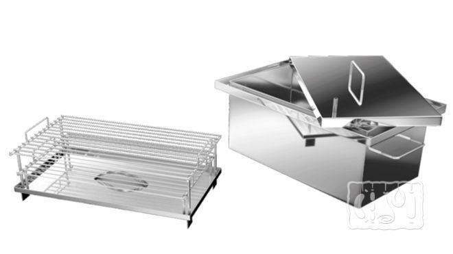 Коптильня Добрый жар с гидрозатвором - 400