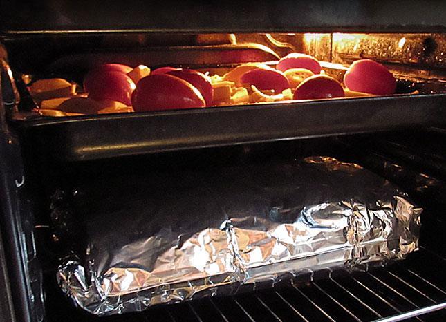 Копчение мяса в электрической духовке