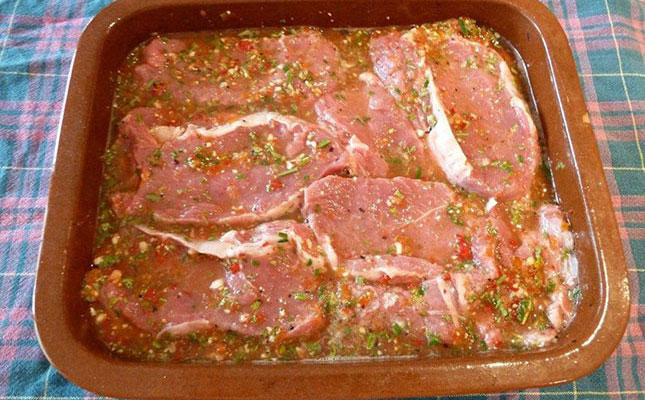 Замаринованное мясо