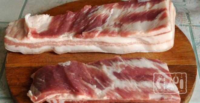Брюшная часть свинины