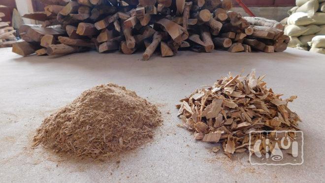 Древесные материалы для копчения