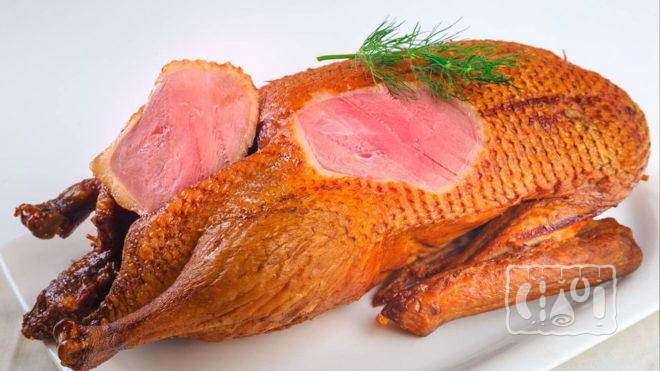 Копчено-вареная курица