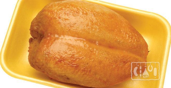 Копчено-вареная куриная грудка