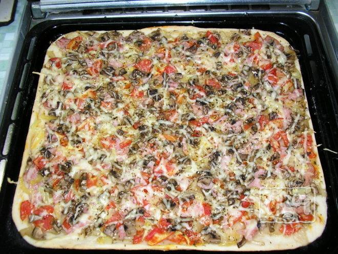 Приготовления пиццы