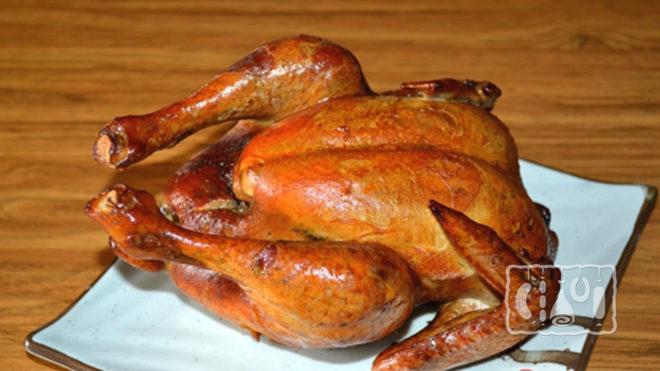 Варено-копченая курица