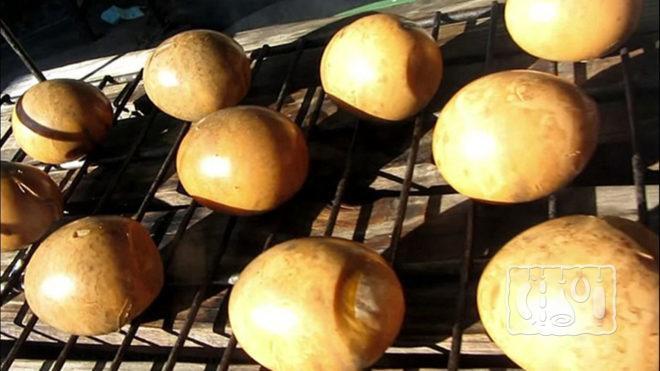 Копченые куриные яйца горячим методом