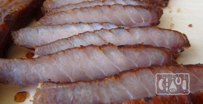 Копченые животики тунца