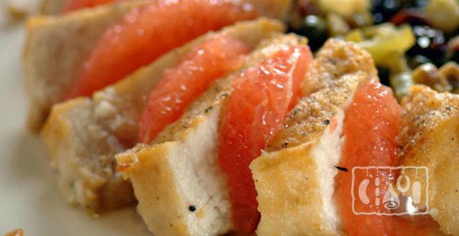 Копчёная рыба-меч с цитрусовыми