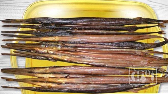 Рыба-игла холодного копчения