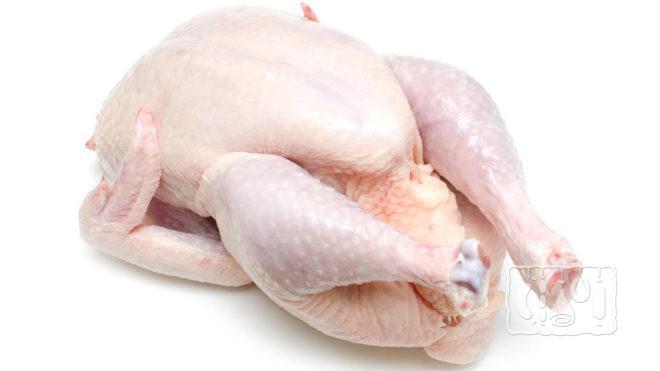 Свежая тушка курицы