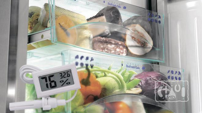 Уровень влажности в холодильнике