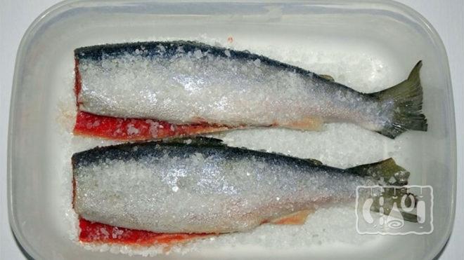 Засолка рыбы сухим методом