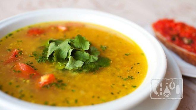 Рецепт супа с чечевицей и ребрышками
