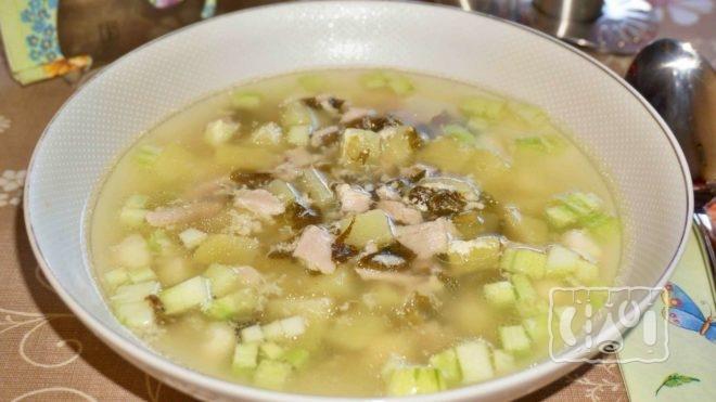 Рецепт супа с горошком и ребрышками