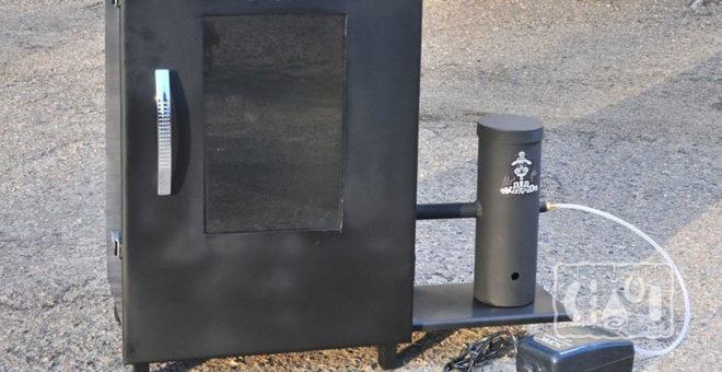 Коптильня холодного копчения с дымогенератором