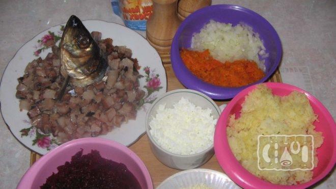 Рецепт приготовления салата с копченой селедкой
