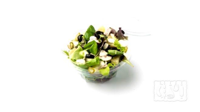 Рецепт салата из копченого окуня