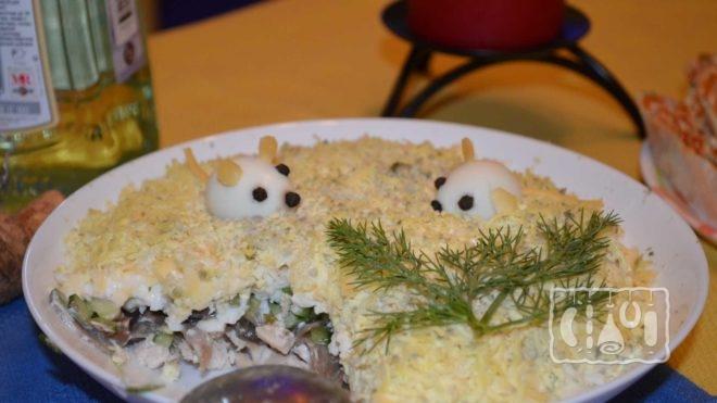 Рецепт слоеного салата