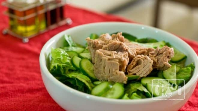 Рецепт салатов с тунцом