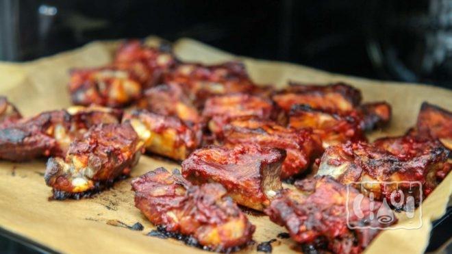 Рецепт копчения свиных ребер