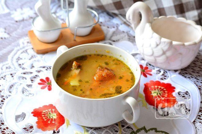Суп с крылышками