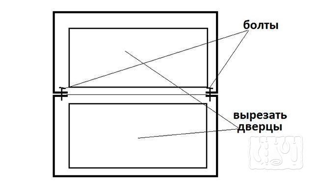 Коптильня из стиральной машины-автомат с горизонтальной загрузкой (схема)