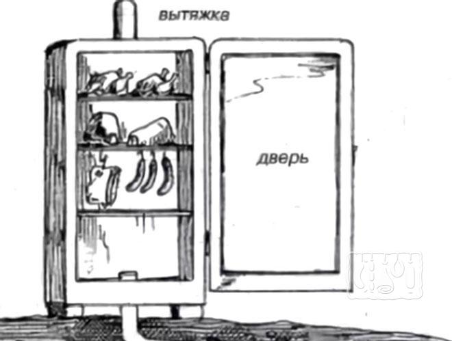 Фото коптилки из холодильника