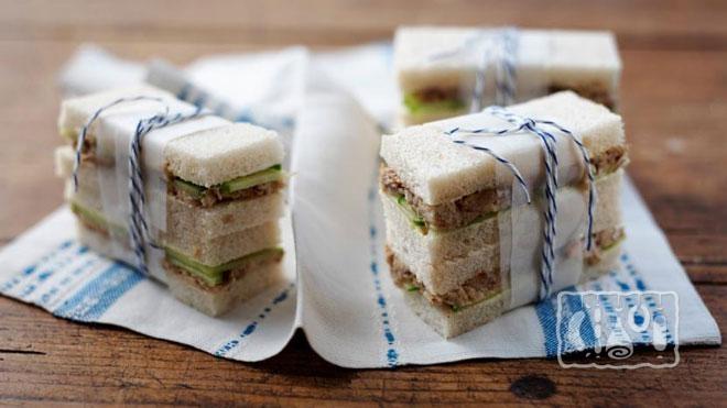 Фото сендвичей из рыбы