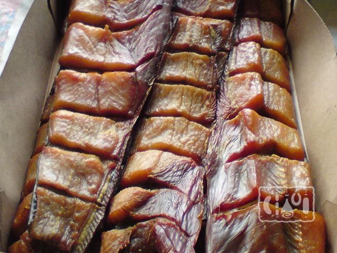 Фото хранения копченой рыбы