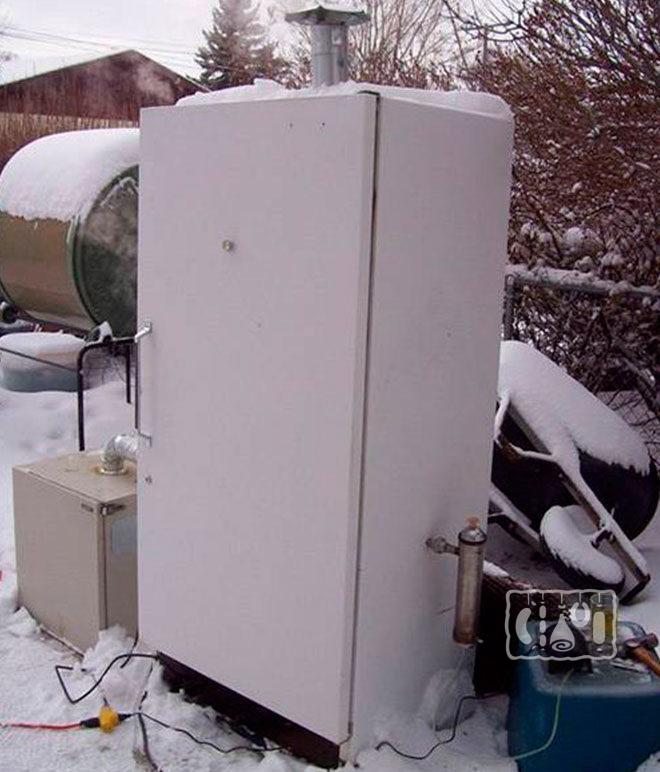 Какие коптильни можно использовать зимой